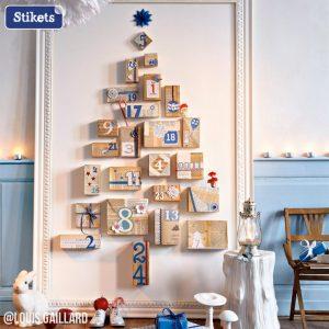 Ein improvisierter Weihnachtsbaum