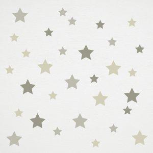 Deko Wandaufkleber Graue Sterne